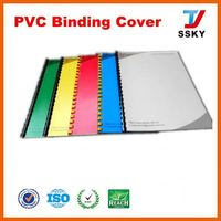 New ISO book cover rigid board 1.5mm black pvc foam sheet/photo album