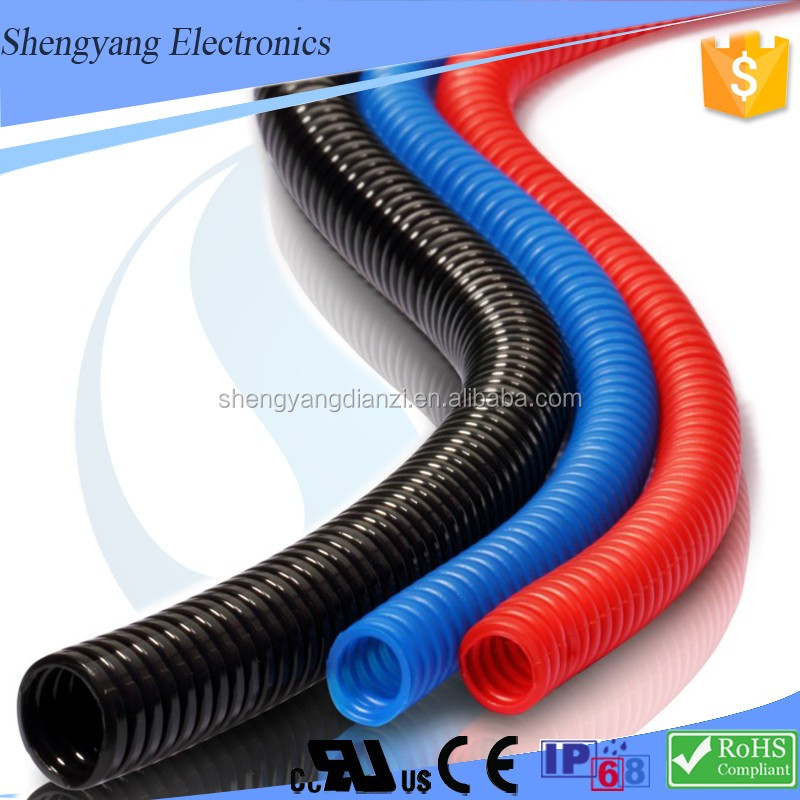 New Products UL Resistant Nylon/PA Flexible Cable Protection Conduit/Plastic PVC Pipe Tube