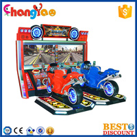 Double Fire Motor Racing Game India Arcade Amusement Game Machine