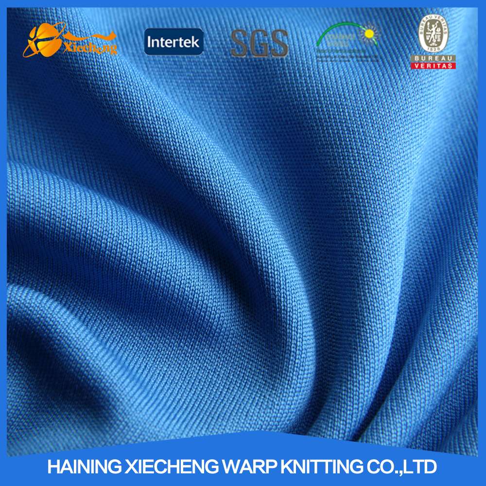 high quality polyester fabric moisture wicking polyester