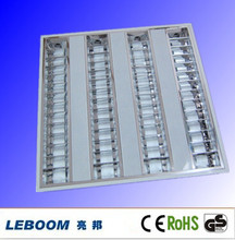 4x14w T5 Embedded Louver Square Ceiling Light Fitting