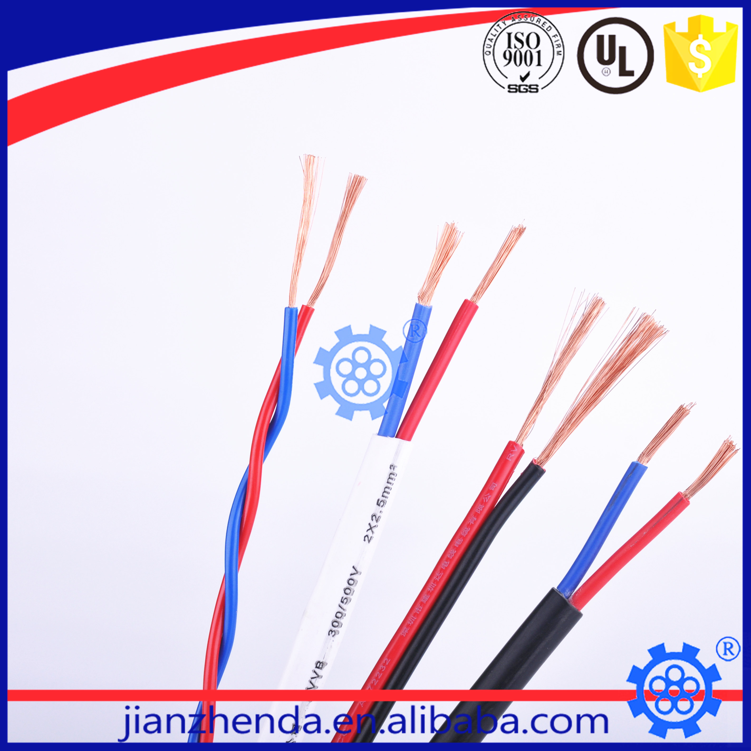 cable wire electrical PVC insulation