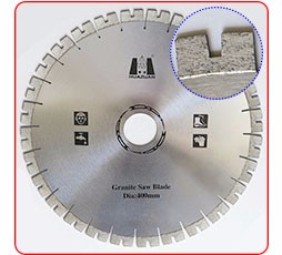 250mm-800mm diameter granite cutting tool diamond circular saw blade