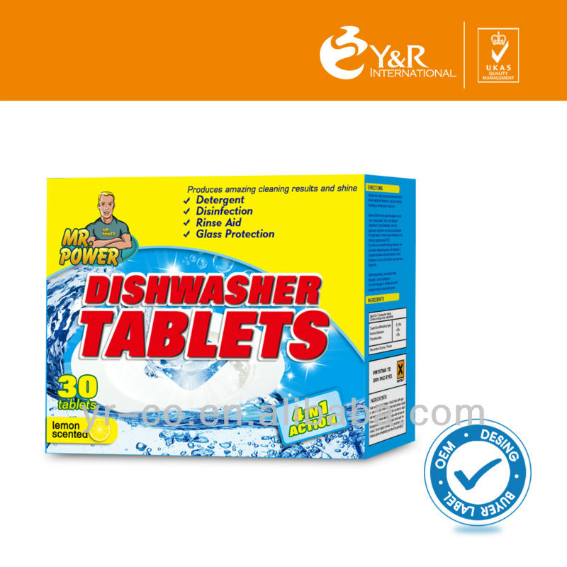 Clearance Sale!2016 Most Popular Dishwashing Tablet