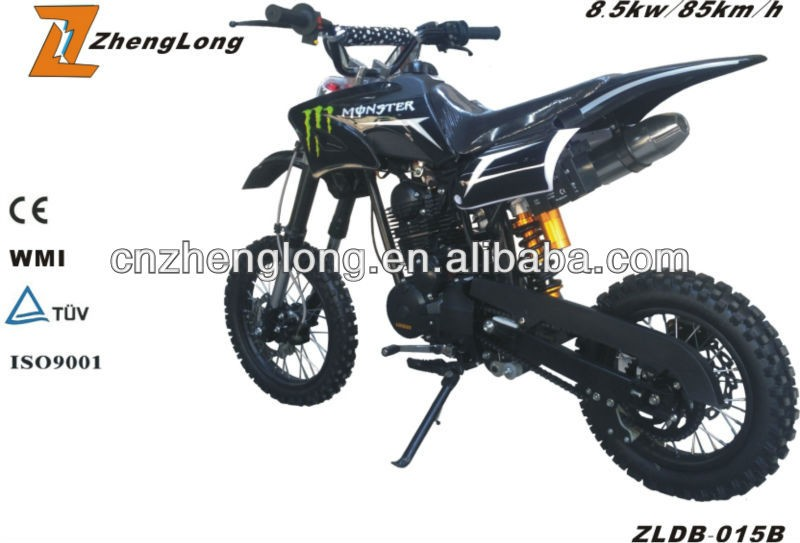 High quality 2016 kids gasoline 4 stroke engines dirt bike
