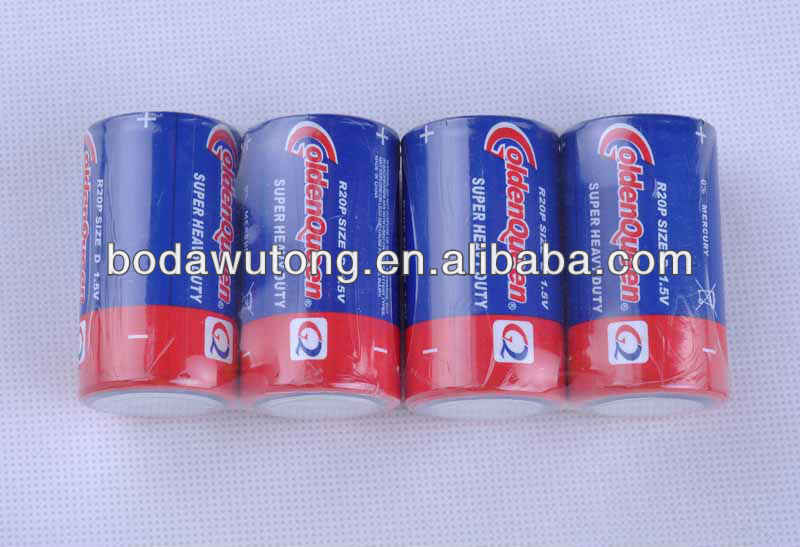 r20 size d dry cell battery
