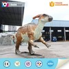 Vivid movement parasaurolophus from zigong dinosaur model supplier
