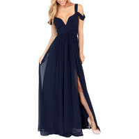 Summer Chiffon Evening Formal Party Cocktail Long Dress