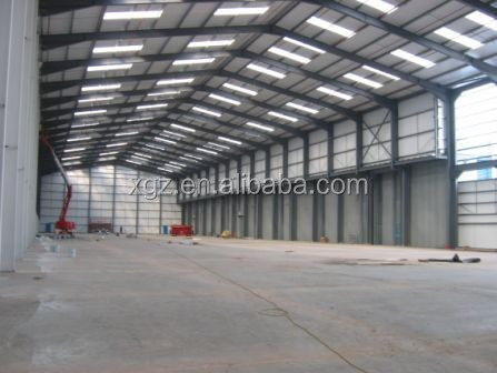 Construction Design Prefabricated Light Steel Structure Warehouse