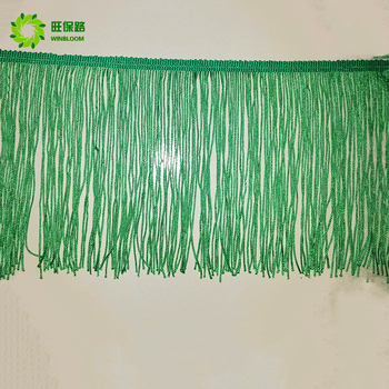 High quality Decorative customized fringe lace