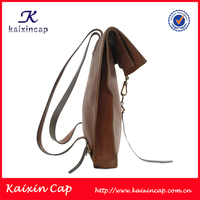 high quality custom leather backpack/2015 new design backpack/promotional backpack leather
