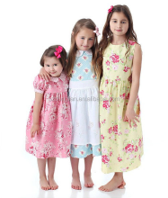 Factory Wholesale New Arrival Breathable Baby Dress Girls Cotton Frock Designs