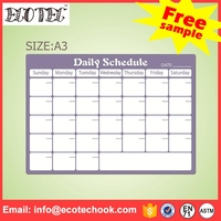 customized design weekly planner printing magic whiteboard