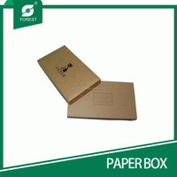 RECTANGLE SHAPE BEST DESIGN BROWN FASHIONAL PAPER BOX FOR PACKING GIFTS