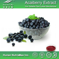 Organic Manufacture Antioxitant Healthcare Supplement Acai Berry Juice Powder Acai Extract Powder