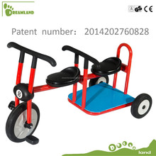 high quality double seats big kids tricycle