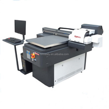 Mycolor double heads inkjet digital flatbed 6090 model uv printer price
