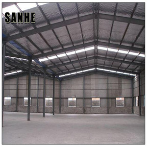 China large span steel structure prefabricated warehouse building for sale