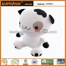 Latest fashional filled toy, stuffed beads toy, animal shape pillow