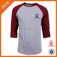 Wholesale European Style Brief and Fashion Cotton Blank Long T Shirt Design for Men