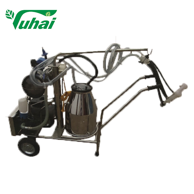 Two piston milking machine Stainless steel milking machine Sheep horse milking machine portable milker