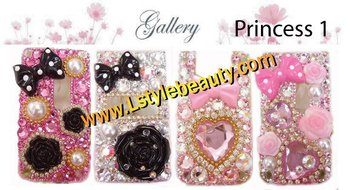 Decorate cell phone 4 styles - Princess kit