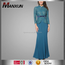 High grade model baju kebaya dress 2016 latest lace baju kurung