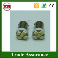 Brand new Wholesale BA9S Socket 1210 5SMD 5 LED Reading light Bulbs Indicator lamps