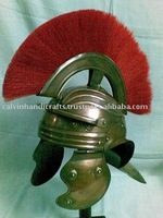 ANTIQUE FINISH ROMAN HELMET