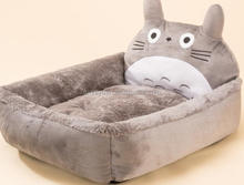 Cartoon pet nest sofa bed teddy small dog kennel than bear can washable cat litter puppy autumn and winter supplies dog bed