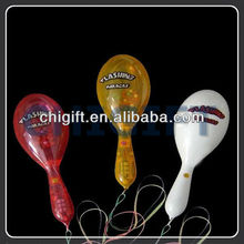 Logo Printed Colorful LED Maraca