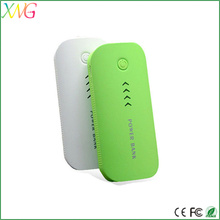 New design fish mouth mini mobile power supply 5200mah power bank
