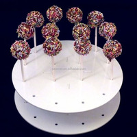 Shopping tops retail lollipop display stand acrylic candy shop display rack