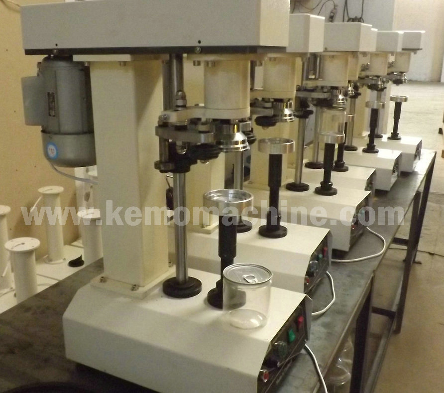 Desktop Automatic Can Sealing Machine Jar Seaming capping machine