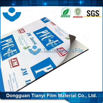 2016 Canton Fair Hot saled Guarentee Non Residue PE Protective Film for Stainless Steel