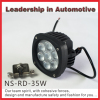 NSSC Wide voltage New 35w led motorcycle light motorcycle auto driving light flood beam spot beam worklight