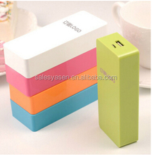 6000Mah slim power bank Portable charger for mobile phone External Battery Backup power for IOS and Android