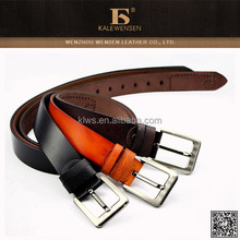 Hot Sales Genuine Cowhide High Quality Leather Belt Makers