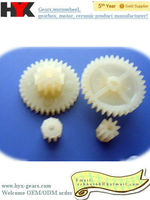 micro plastic double gear manufacturer