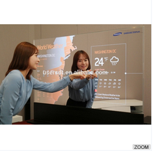 Smart HD advertising mirror lcd player bathroom Magic mirror TV
