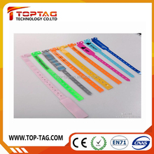 Wholesale price custom hospital wristbands one time use medical RFID bracelets