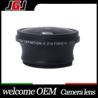 37mm Professional 0.21x Super Fisheye Lens High Definition Fish-Eye Lens for Sony DCR-SX85 for Canon for Lumix SLR Camera