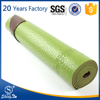 Extra Thick Eco-friendly Yoga Mat PVC Yoga Mat Carrying Strap
