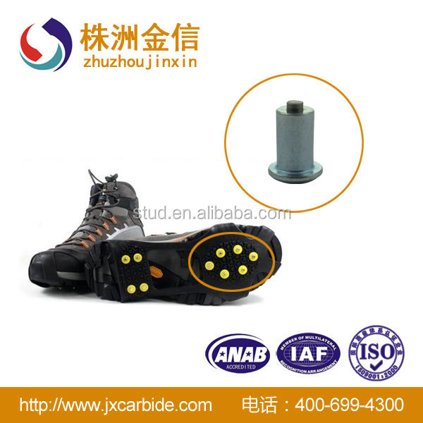 tire studs for footwear and forklift,off-road vehicle