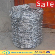 hot dipped galvanized two points double strand barbed wire price