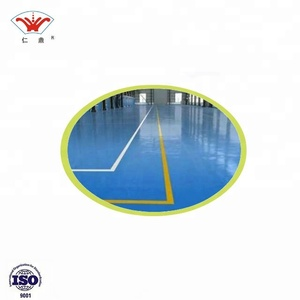 Government Approved Factory Price Self-leveling Epoxy Floor Coating Resin Paint Car Park