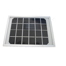 5W 18V Polycrystalline silicon Solar Panel used for 12V photovoltaic power home system, 5Watt 5WP 12VDC PV Poly