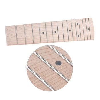 21 Inch Soprano Ukulele Hawaiian Guitar Maple Wood Fretboard Fingerboard 15 Frets