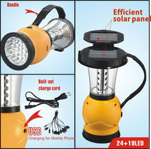 Rechargeable handheld outdoor cheap camping lantern with ABS material