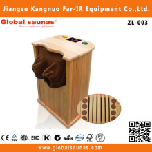 1 person indoor traditional wood pallet sauna ZL-003